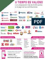 Lugares de Pago autorizados por la Secretaría de Finanzas de la CDMX