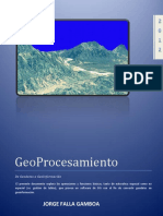 Geo Procesamiento