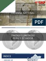 DEFENSA-NACIONAL-TRATADO-PERU-Y-ECUADOR.pptx