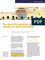 McKinsey Do-Or-die Questions About Technology 0613 Modified