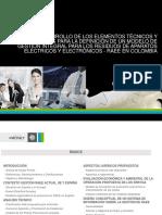 Aparatos Electricos y Electronicos Informe Pronet