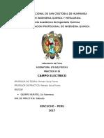 Informe de Fisica II (Campo Electrico)