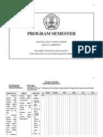 Program Semester II Kelas VI Mata Pelajaran Bahasa Inggris