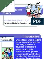 Communication Theory MBA