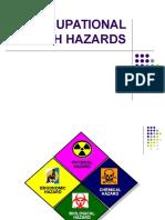 Occupational Health Hazard