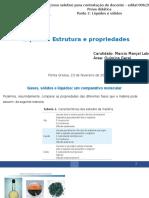 Líquidos - Estrutura e propriedades