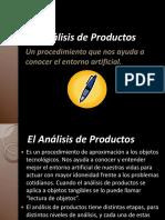 Análisis de Producto Tecnológico.