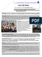 Cox News Volume 6 Issue 19