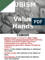 cubism hands ppt