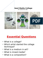 mixed media collage ppt  3