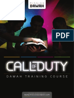 Mission Dawah Call of Duty Notes