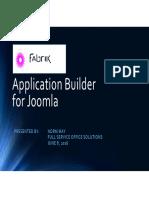 Fabrik - Application Builder for Joomla