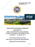 Report of Ubru Unair Fkm Exchange