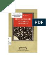 Adorno Epistemologia y Ciencias Sociales