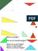 triangles grade6