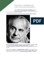Karl Popper Viena