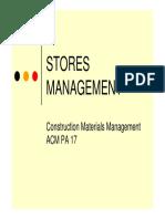10 Stores Management