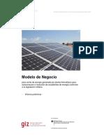 Modelo de Negocio ESCO GIZ 2015 -2017