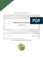 Hamilton LRT poll results