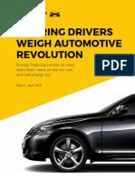 Aspiring Drivers Weigh Automotive Revolution Survey