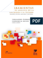 Herramientas Para El Análisis de La Sociedad y El Estado - Pedrosa