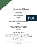 Brief of Amicus Curiae - Supreme Court of Alabama 8-4-13