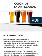 Presentacion Cerveza Artesanal