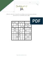 Sudoku Nº 17