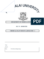 Department of Chemical Engineering Front Page