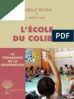 Peloux Isabelle - Lamy Anne - L'école du colibri.pdf