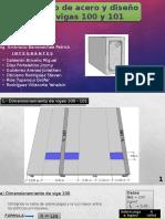 Calculo de Acero y Diseño de Vigas