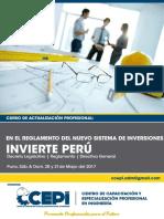 Infomacion General Invierte Perú