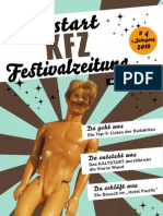 KFZ - Kaltstart-Festivalzeitung / # 04 / 1. Jahrgang
