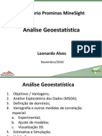 Leonardo Geoestatistica Seminario Prominas 2010