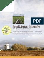 2009 Food Matters Manitoba Annual Report