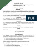 Reglamento de Las Descargas y Reuso de Aguas Residuales y de La Disposición de Lodos.