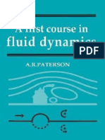 A. R. Paterson a First Course in Fluid Dynamics