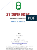 eBook 27SuperDicasParaProfissionaisDeAnaliseDeNegocios