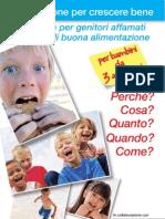 Manuale Nutrizione Bambini Da 3 a 10 Anni