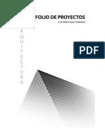 Portafolio de Proyectos