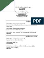 2017 sar meeting program