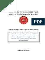 Bases Delegados Municipales CIP Junín 2017