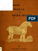 (1888) The Old English War Horse or Shire-Horse