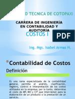 COSTOS I Generalidades