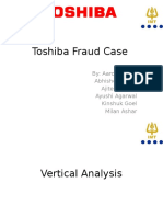 Toshiba Fraud Case