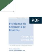 Seminario de Finanzas, Actividades