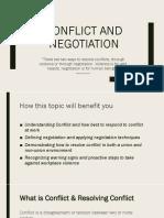 conflict negotiation   1