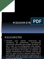 MEGOHMETRO.pptx