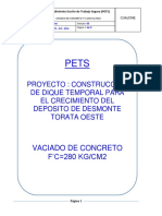 Pet Vaciado