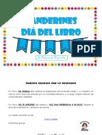 Banderines - Día Del Libro
